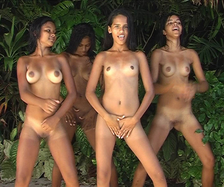 Brazilian family nudist pageants