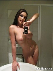 Xxx homemade selfshot pics of busty girl undressing in the bathroom. tags: amateur, big boobs, naked girl.