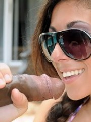 Sexy rachel roxx sees a big cock for the first time and enjoys every second of it