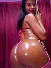 Chocolate flavor  young chick with flawless skin, hot tits, sweet butt and curves