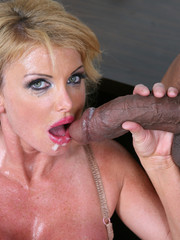 Bugsi is expecting a visit from his pr bitch joslyn james but his black cock caught the flu. so, flash brown was used as a replacement cock to fill in