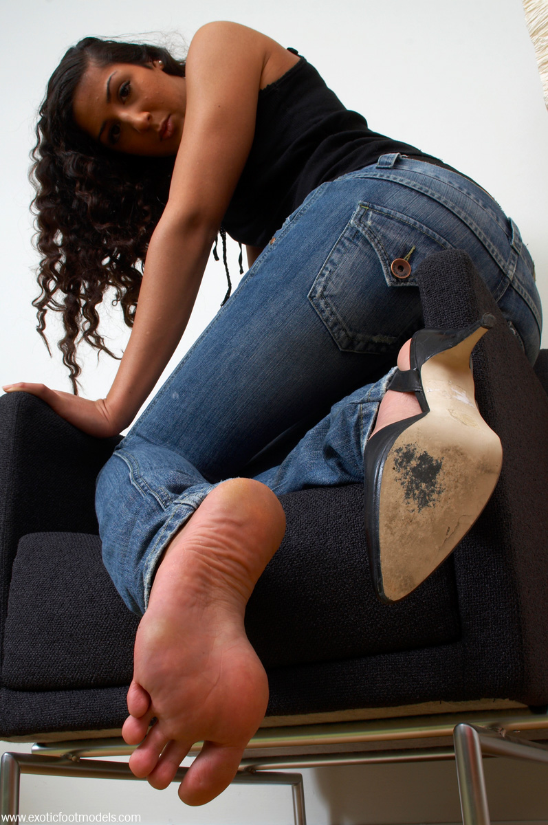 Exotic foot fetish