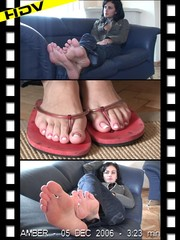 Deliciously suckling soles and toes from temptresses
