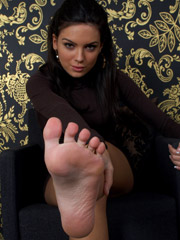 Lick sucking of bewitching gorgeous toes