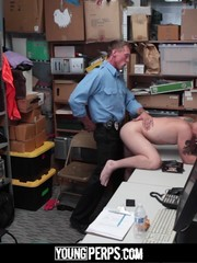 Randy studs defile submissive guy painting and shoving cocks in his ass and mouth