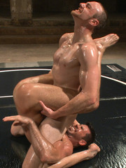 Two six packs studs sweating as they wrestle, suck dicks and bang and finger butts
