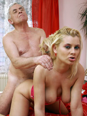 Upskirt coed making out with her old lecturer getting a-marks and loose box