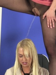 Young slim satin bloom gets bound and exploited