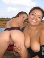 What can be lovelier than two latino naked girls kissing and hugging each other!