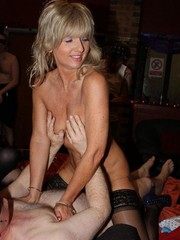 Real amateur swinger wives play together