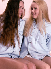 Isabelle and erin goult. two of the best in a lesbian teen scene. isabelle had never been with a girl until she turned up at my studio.